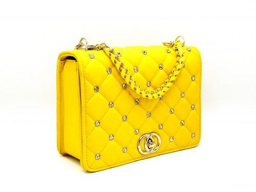 Geanta Dama Cleo_Yellow