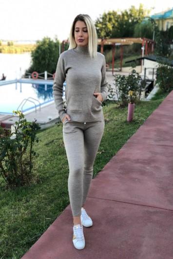 Compleu Tiara din material tricotat elastic